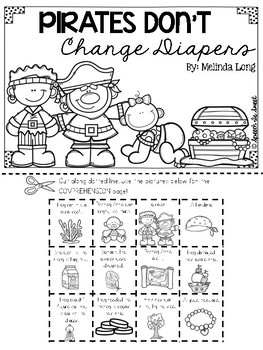 Pirates Don't Change Diapers Literature Lap Book