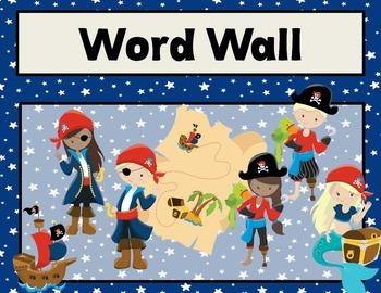 Pirates Editable Classroom Decor Pack {EDITABLE}