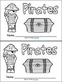 Pirates Emergent Reader for Kindergarten- Level A