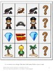 Pirate Activities,Math and Literacy, Interactive File Folder Games Summer Review