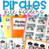 Pirates File Folders for Special Education