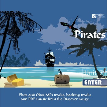 Pirates Flute And Oboe MP3 And PDF Unit 7.