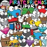 Pirates Friends Clipart {Pirate Clipart}