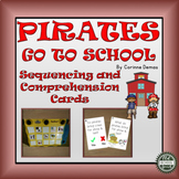 Pirates Go To School Sequencing and Comprehension Cards