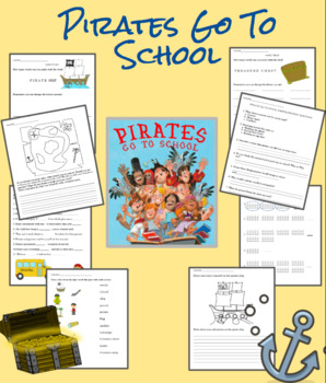 """Pirates Go to School"" Comprehension and other pirate activities."