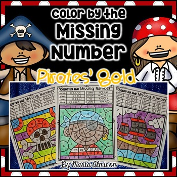 Pirates' Gold – Color by the Missing Number