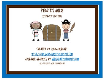 Pirate's Gold Math and Literacy Stations
