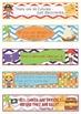 Pirates Decor Growth Mindset Bookmarks, Shelf Markers Desk Name Plates-EDITABLE