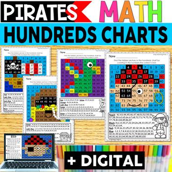 Pirates Hundreds Chart Hidden Pictures