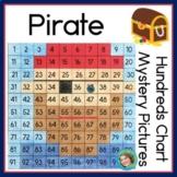 Pirate 100s Chart Activities   No prep worksheets