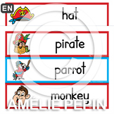 Pirates - Illustrated Word Wall (24)