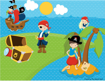 Pirates Language Building Activity (Scene 2)