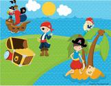 Pirates Language Building Activity (Scene 2)