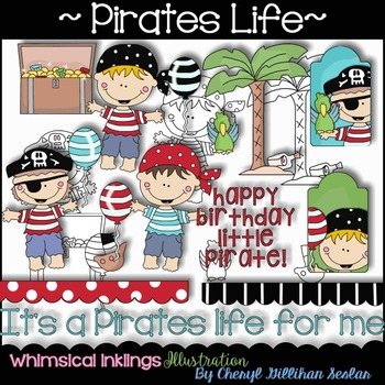 Pirates Life Clipart Collection