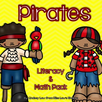Pirates Literacy & Math Pack
