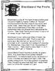 Pirate Literacy Activities:  Blackbeard, Anne Bonny, Calico Jack, Mary Read