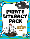 Pirate Literacy Activities:  Blackbeard, Anne Bonny, Calico Jack, Mary Read