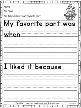 Pirates - Literacy and Math Printables