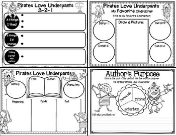 Pirates Love Underpants (Story Companion with QR codes)