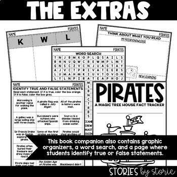 Pirates (Magic Tree House Fact Tracker & Nonfiction Companion)
