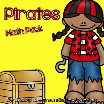 Pirates Math Pack