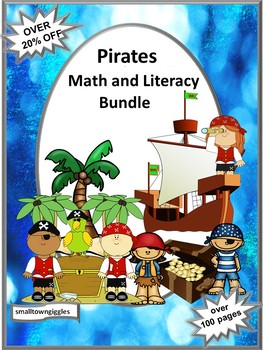 Pirates Bundle Special Education and Autism Resources Kindergarten Fine Motor