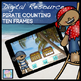 Kindergarten Math and Literacy Printables: Pirate Theme (N