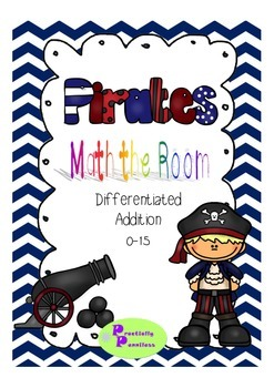 Pirates Math the Room - Addition