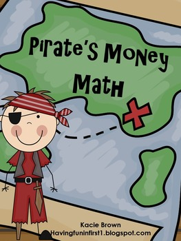 Money Math Game Pirate Theme