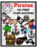 Pirates NO PREP Craft Pack: Morning Work, Centers, Fast Fi