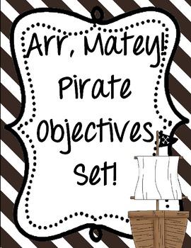 Pirates Objectives Set