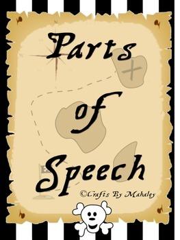 Pirates Parts of Speech