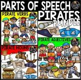 Pirates – Parts of Speech Clip Art Bundle {Educlips Clipart}