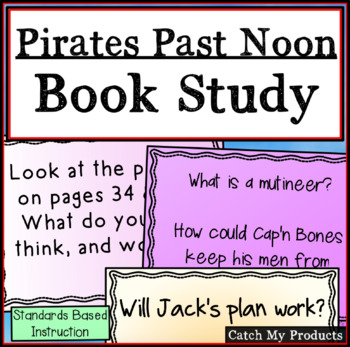 Pirates Past Noon - A Complete Literary Unit on Power Point