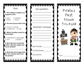 Pirates Past Noon Chapter 1-3 Trifold