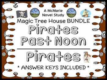 Pirates Past Noon | Pirates Fact Tracker: Magic Tree House BUNDLE (48 pages)