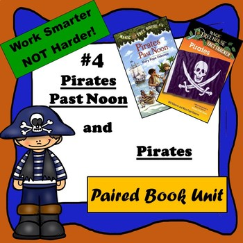 Pirates Past Noon & Pirates--Paired Reading, Magic Tree House