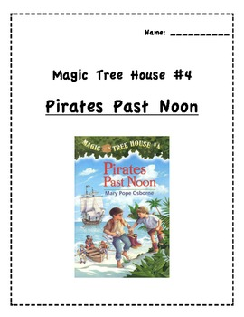 Pirates Past Noon Reading Strategy Packet