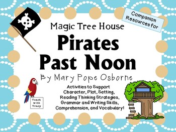 Pirates Past Noon by Mary Pope Osborne:  A Complete Litera