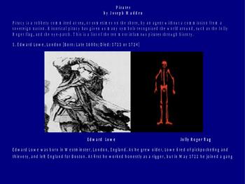 Pirates, Pirates Powerpoint Presentation