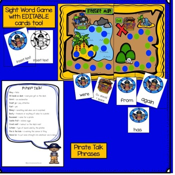 Pirate Song & Literacy Activities