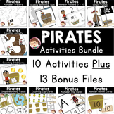 Pirates Preschool and PreK Literacy and Maths Activities