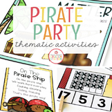 PIRATES (FORCE AND MOTION) UNIT FOR PRESCHOOL, PRE-K AND KINDERGARTEN