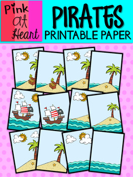 Pirates Printable Paper