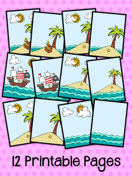 Pirates Printable Paper
