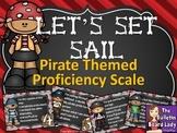 Pirates Proficiency Scale - Let's Set Sail