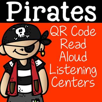 Pirates QR Code Read Aloud Listening Centers