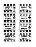 Pirates Reader's Mayhem Punch Reward Card Template
