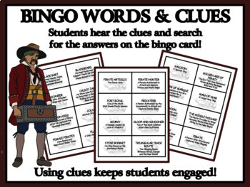 READING PASSAGES AND BINGO - Pirates and the Golden Age of Piracy