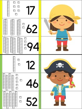 Pirates Sequencing 3 Numbers